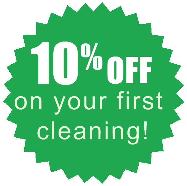 10% Off First Cleaning