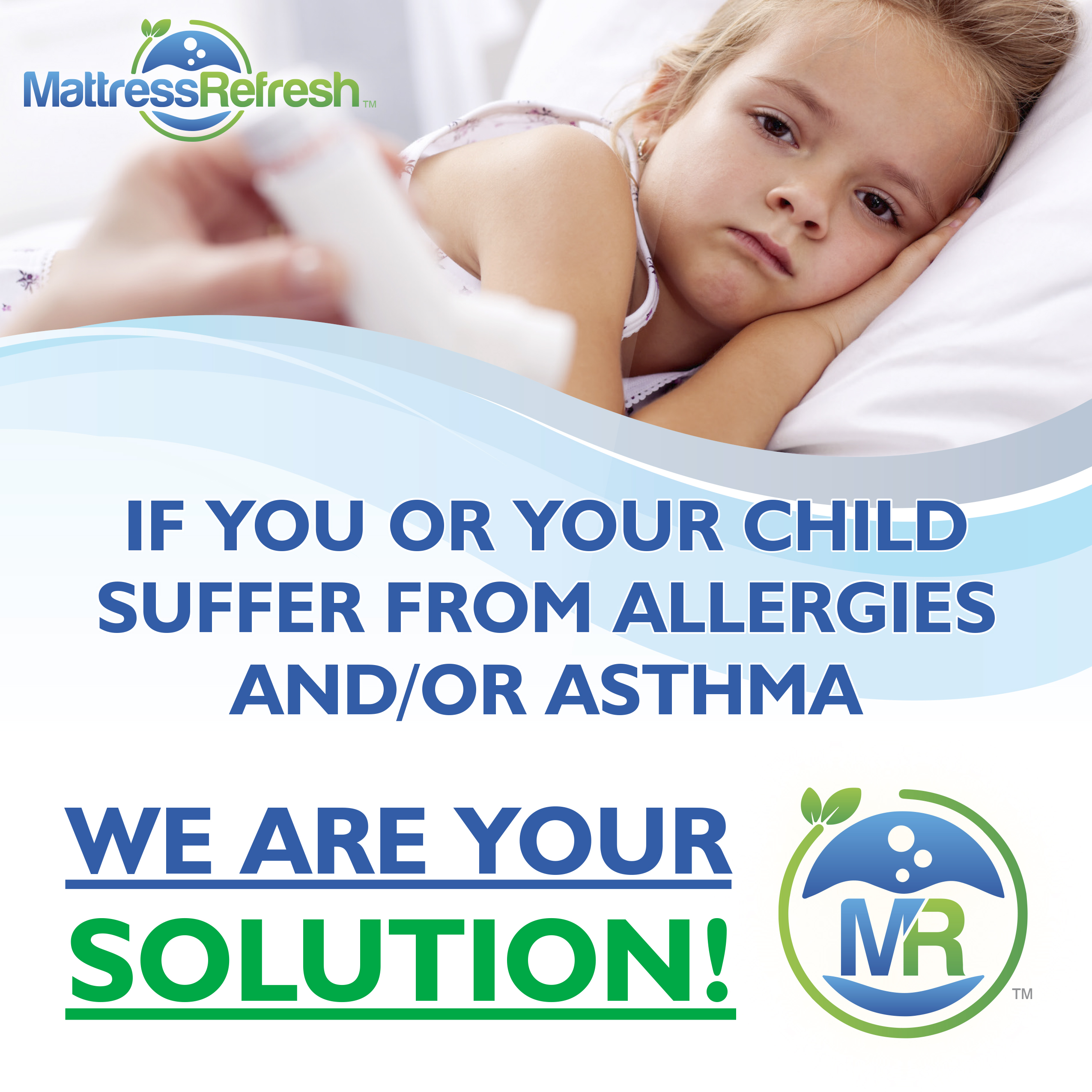 If you or your child suffers from allergies and/or asthma